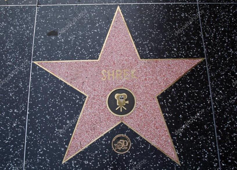estrela da calçada da fama