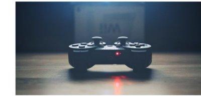 Imagem de um controle de vídeo game.
